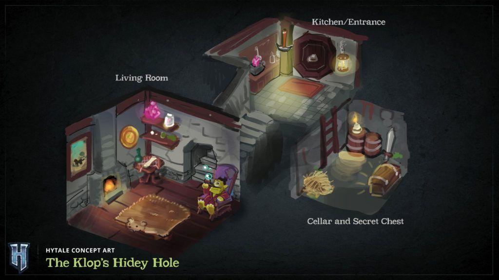 Klop's maison trou