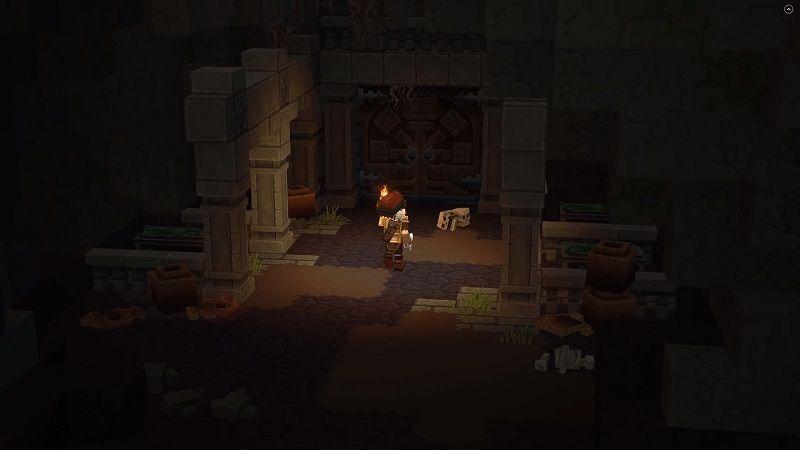 Screenshot d'un donjon