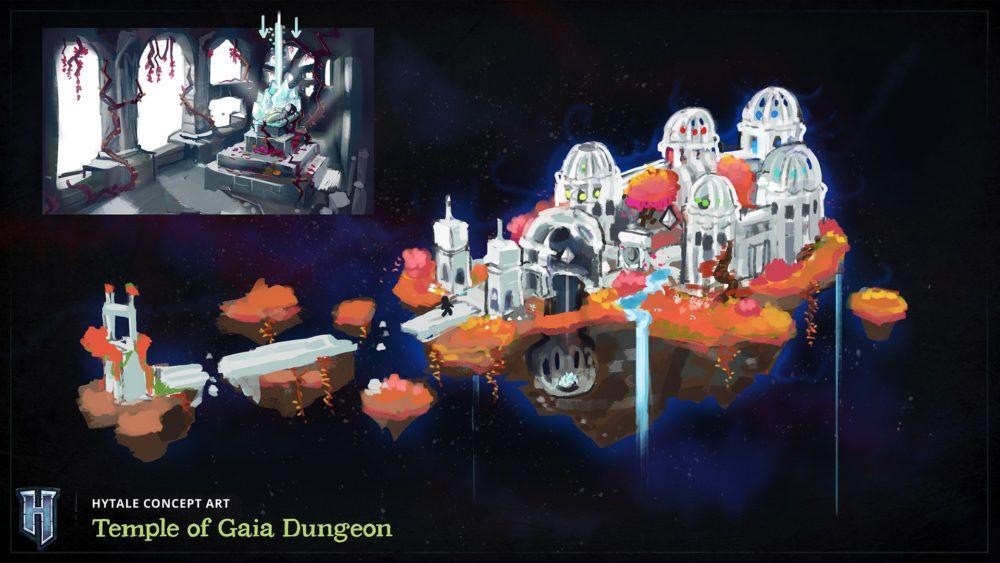 Temple d'un donjon de Gaïa