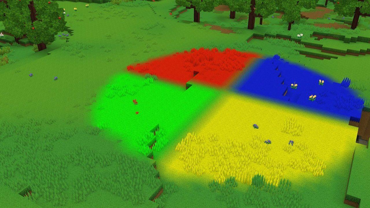 Un exemple des l'outil RGB sur Hytale