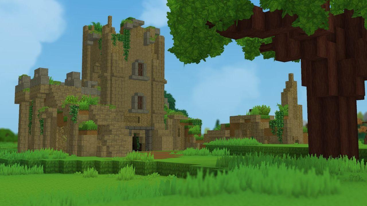 Château qui s'écroule
