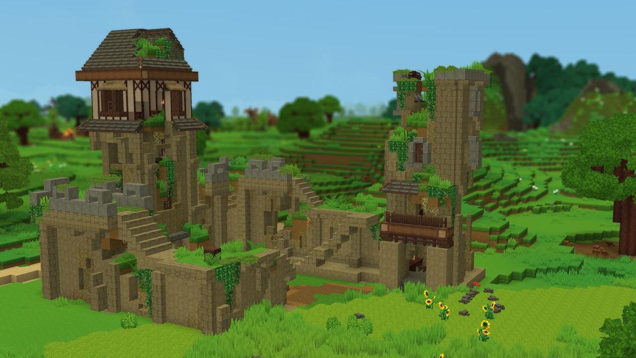 Établissement en ruines