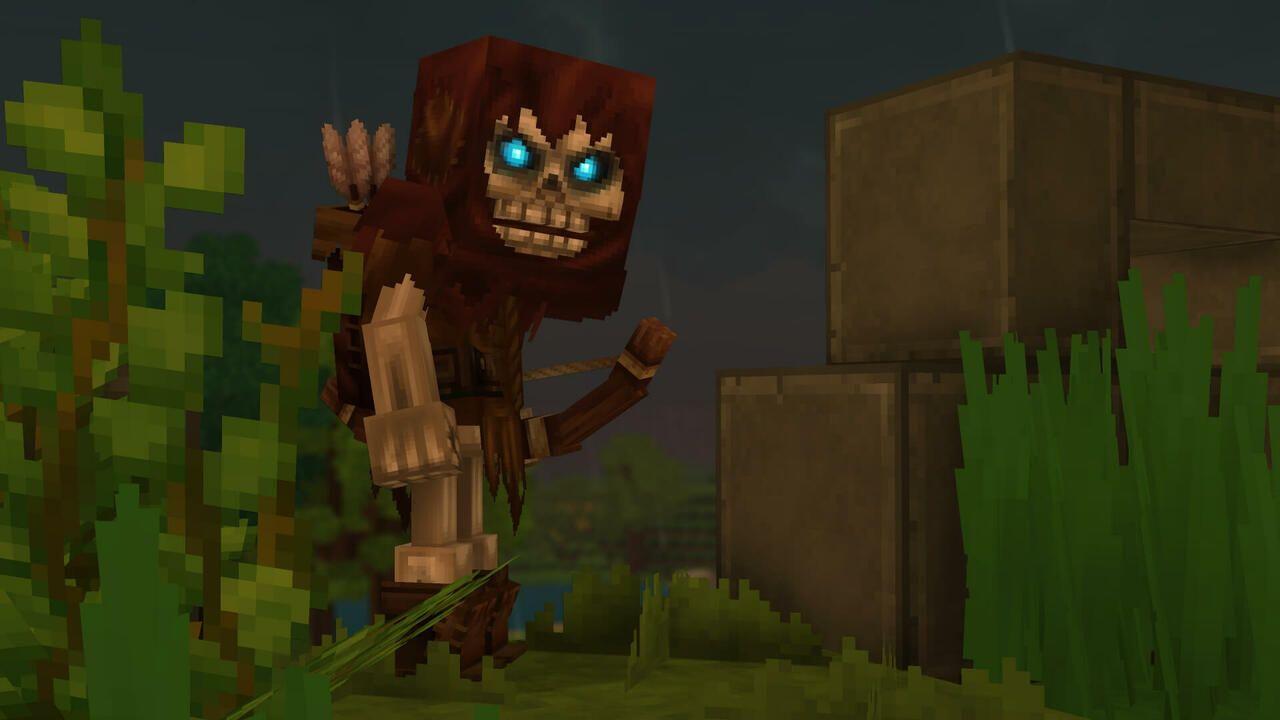 Un squelette archer de la zone 1
