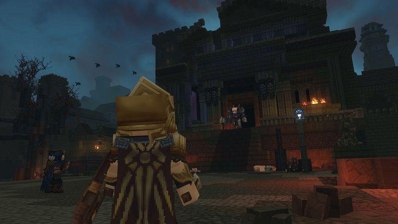 Temple de Gaïa abandonné