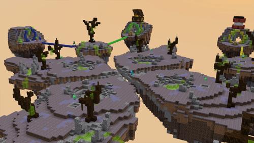 Bed Wars sur Minecraft