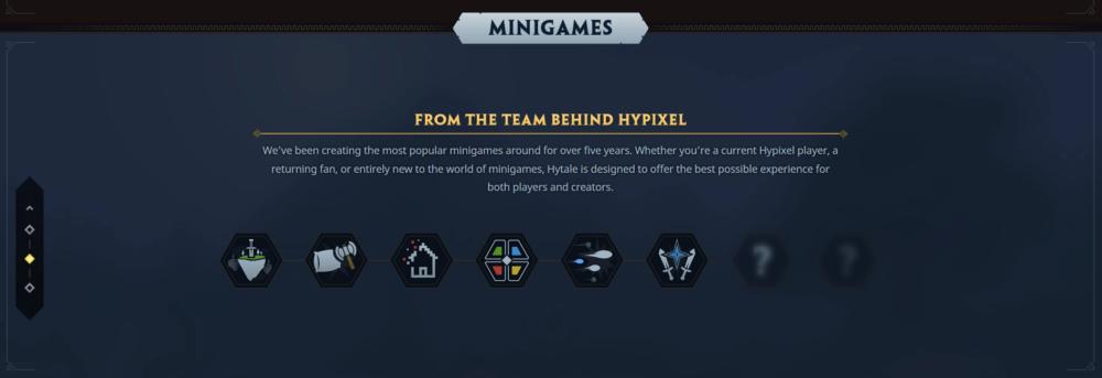 Contenu concernant les mini-jeux