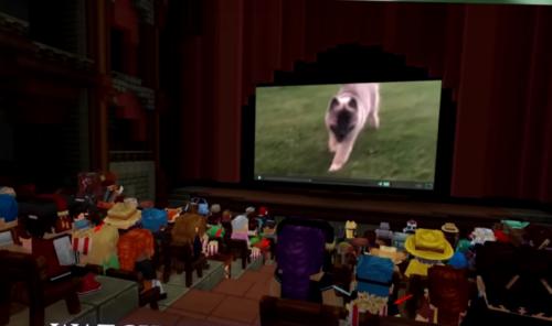 Salle de cinéma dans Hytale