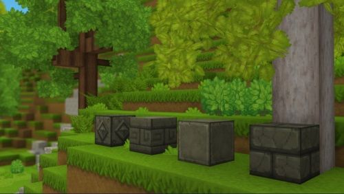 blocs design variés
