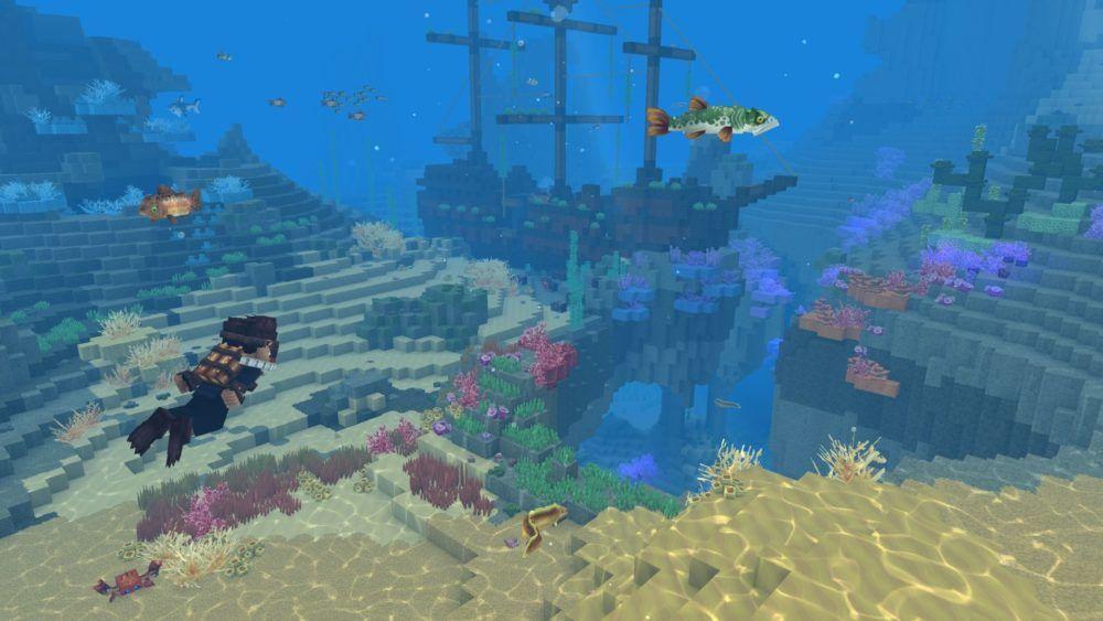 Monde sous-marin d'Hytale