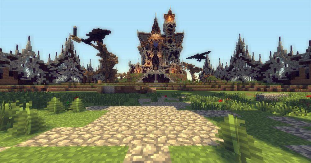 Mega Walls dans Minecraft
