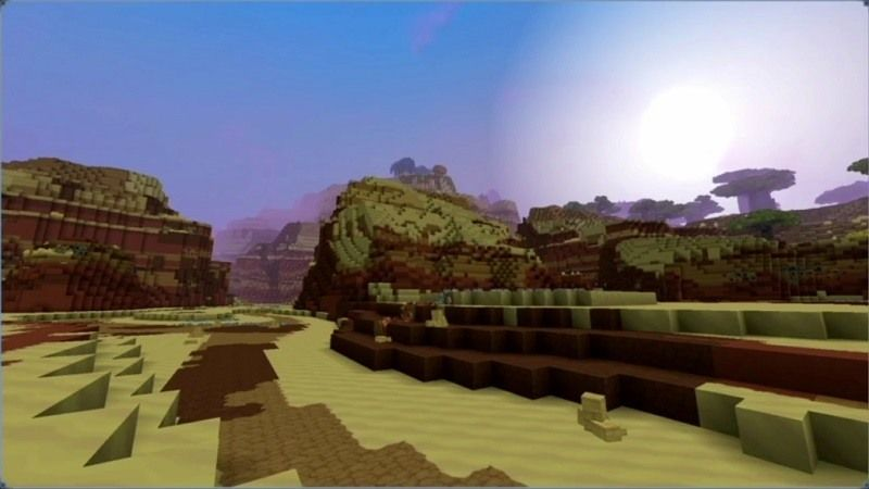La zone 2 d'Hytale au début de son développement