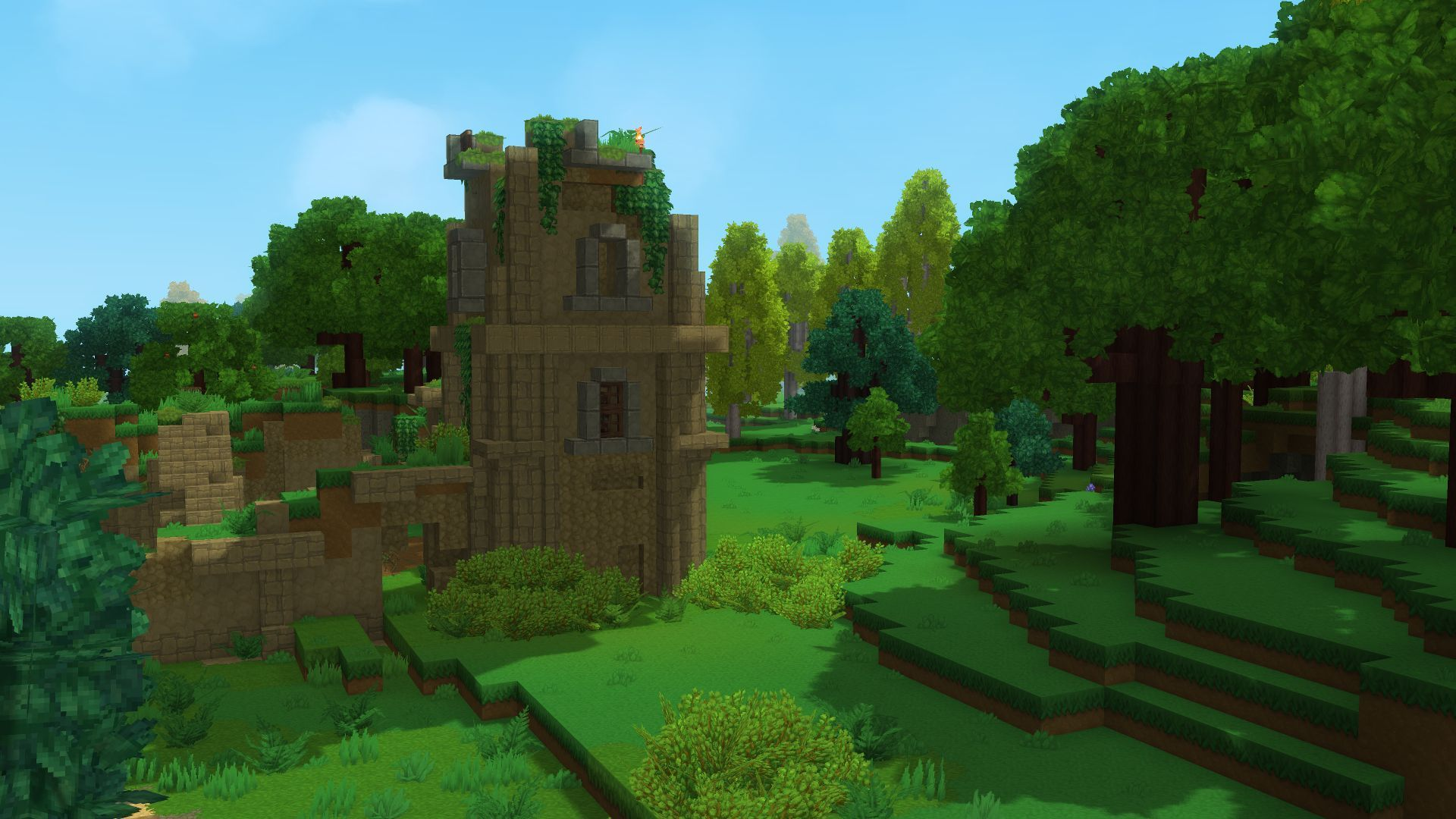 Ombres dynamiques Hytale