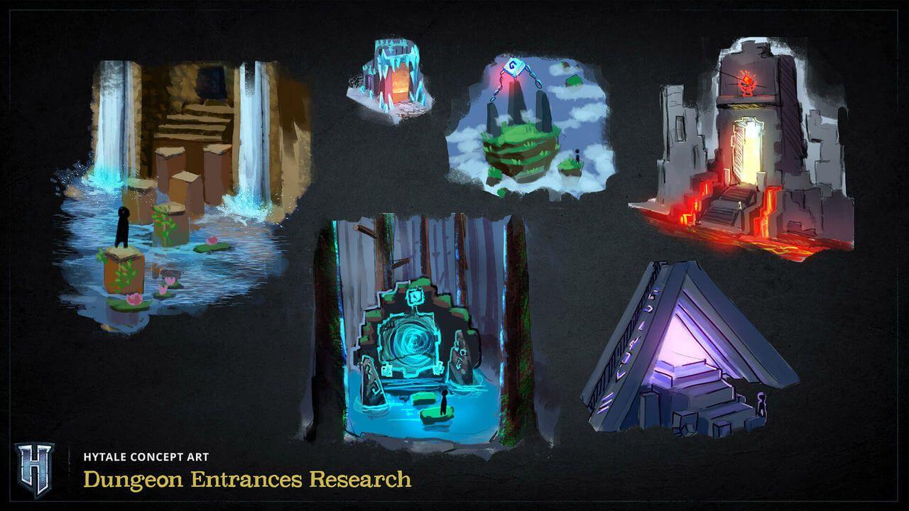 concept art hytale portails