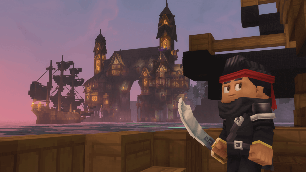 pirate build hytale wallpaper