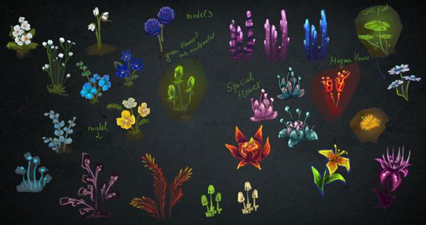 Fleurs hytale