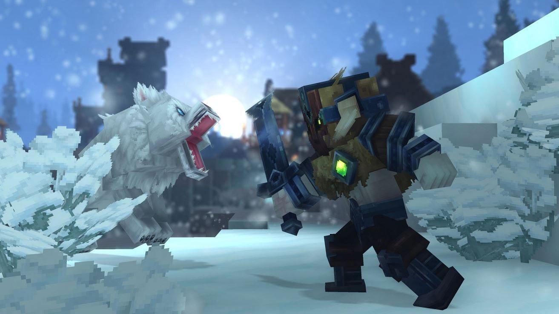 Outlander vs Loup hytale