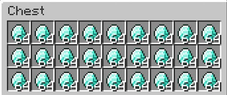 Minecraft stack